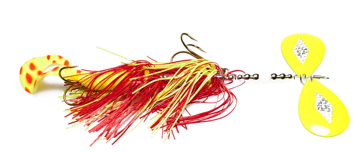 Big Mama 110 Red/Chartruese